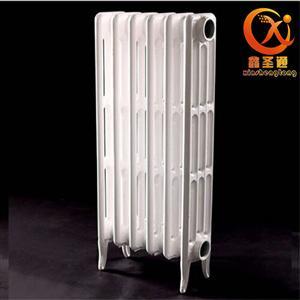 铸铁暖气片 700喷塑柱翼内腔无砂对流型暖气片
