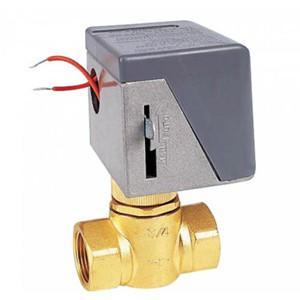 中央空调风机盘管电动两通阀铜球阀