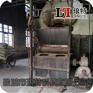 淮安洪泽4吨燃煤锅炉改造生物质运行稳定