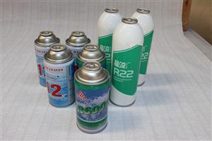 小罐装制冷剂