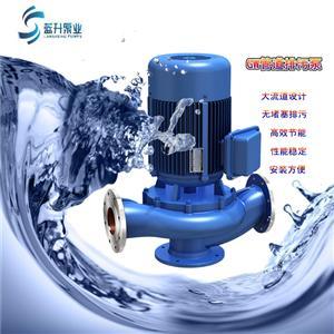 济南离心泵|ISG单级单吸立式管道离心泵