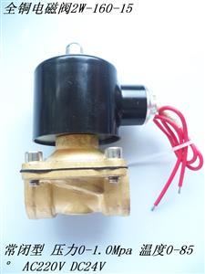 2W-160-15全铜电磁阀全铜线圈江西南昌