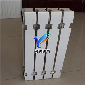 铸铁散热器暖气片家用内腔无砂圆翼工业国标老式