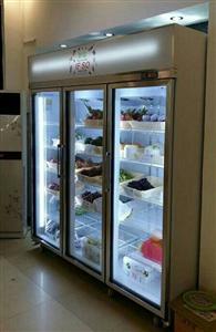 绿缔内机水果展示柜