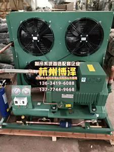 杭州比泽尔4YD-12.2风冷机组 冷库制冷机组