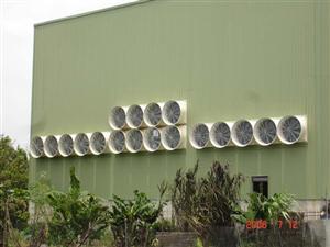 厦门厂房通风降温设备