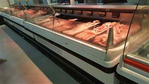 超市鲜肉柜
