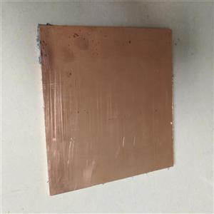 耐高温铜材 T2铜板 湛江无氧铜板 H59磷铜板贴膜