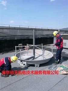 南京良研LCT-100T圆形逆流冷却塔安装