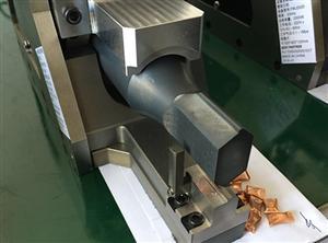 冰箱冷凝液充氟保压铜管焊接加工超声波封切设备
