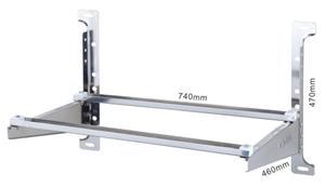 1-2P豪华型不锈钢支架