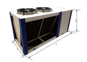 浙江厂家定制批发V型冷凝器  冷库 机房多用冷凝蒸发器
