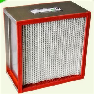 涂布线耐高温高效过滤器 不锈钢外框过滤器
