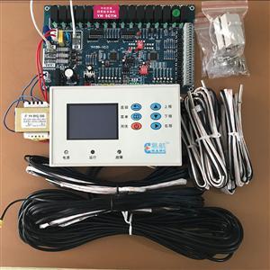 中央空调水冷机风机模块机4压机4系统通用板