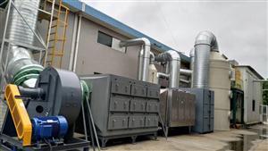 活性炭吸附装置 UV光解 VOCS有机废气治理
