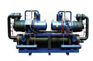 双机螺杆低温冷水机组
