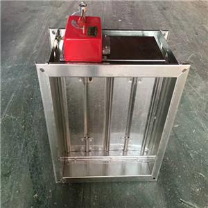 东营280℃排烟防火阀 3C认证排烟阀无焊接变形