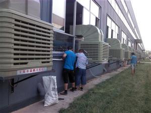 嘉兴水空调安装管道湿帘墙南湖冷风机水空调安装