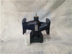 原装西门子VVF42.65法兰连接电动二通调节阀门 冷热水