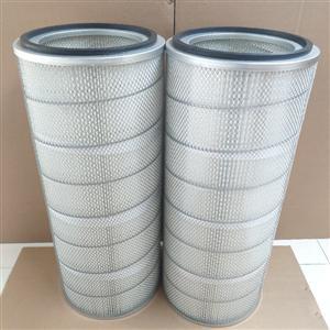 自洁式除尘器空气滤筒除尘滤筒阻燃滤筒