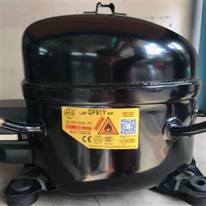 霓虹1P压缩机DF91Y  R600a制冷剂