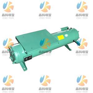 壳管式水冷冷凝器 水冷式换热器 20HP压缩机水冷凝器