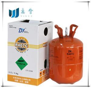 山西东岳制冷剂R407c,中高温空调热泵专属氟利昂