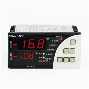 精创温控器 双温度显示 超温报警 制冷化霜 MTC―5080