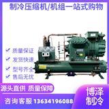 低温库机组 水冷式半封闭机组 6WD40.2 杭州比泽尔机组