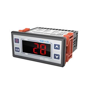 电子数显微电脑智能温控器开关冷库温度控制器stc―200+