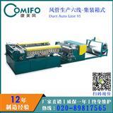 广州康美风集装箱风管生产线 风管生产六线