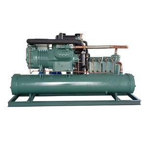 比泽尔双级水冷中低温机组 冷库机组 支持定制