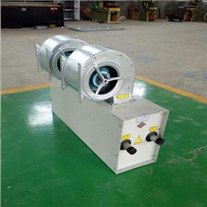 离心式热水风幕机 低噪音镀锌板空气幕 车间风幕机