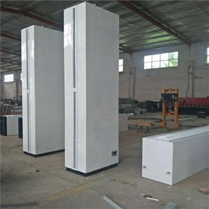 2米立式离心式风幕机 镀锌板空气幕