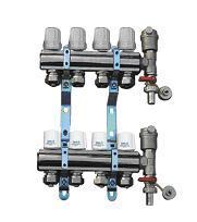 TH25地板采暖分集水器
