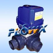 电动UPVC球阀电动塑料球阀