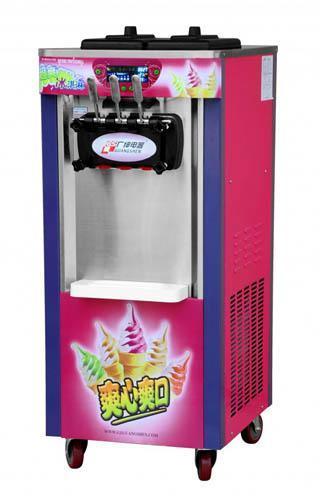 预冷缸冰淇淋机