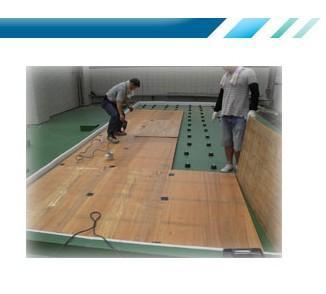 防振浮动地板