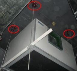 风机盘管专用减震器