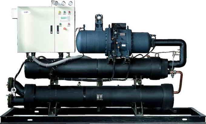 地温机组中央空调机组、地温机组、水源热泵