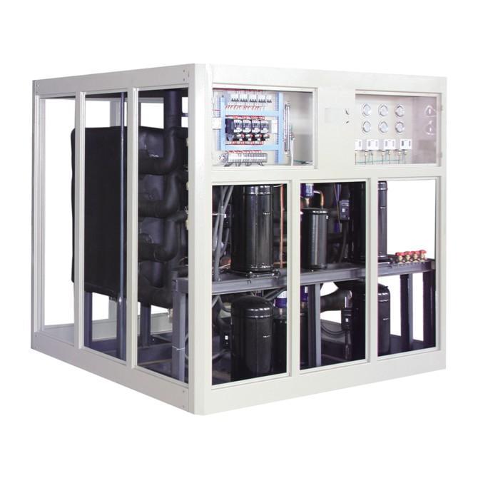涡旋式水源热泵地源中央空调机组