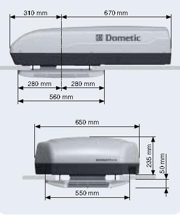 多美达DOMETIC特种车顶置空调