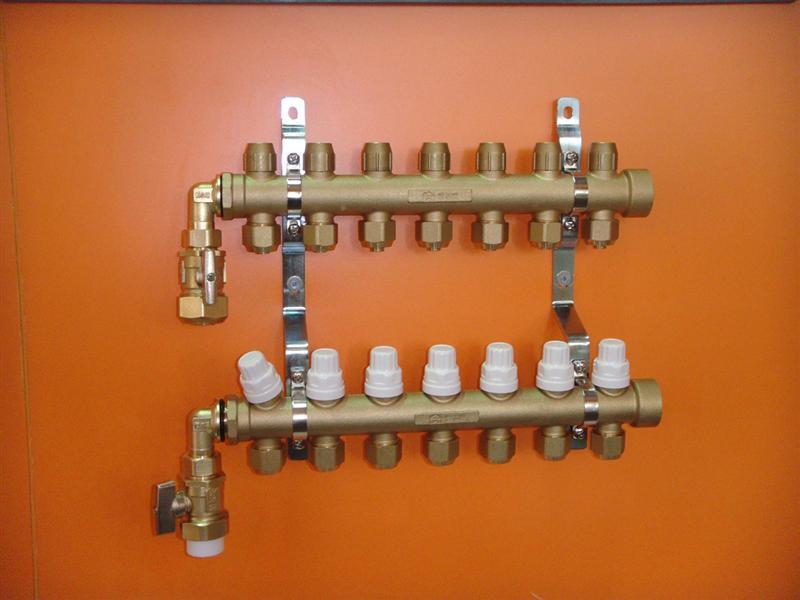 整体锻造分集水器-智能温控型 恒尔暖智能温控整体锻造