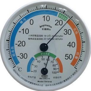 美德时温湿度计