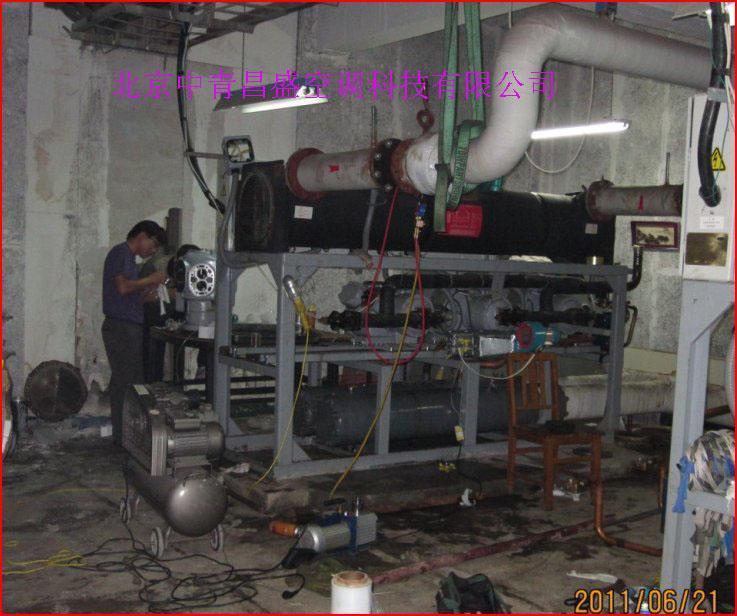 开利活塞式冷水机组维修