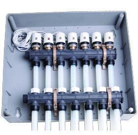 强化塑料地暖分集水器