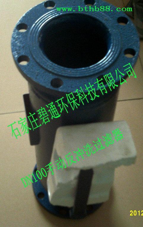 上海DN100反冲洗过滤器