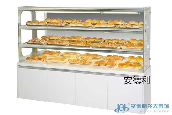 1.5米边岛柜 面包展示柜 常温面包柜 面包冷柜价格 面包