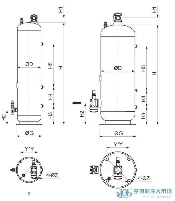 法斯克带证立式储液器,FaSiKe,E1L-80L