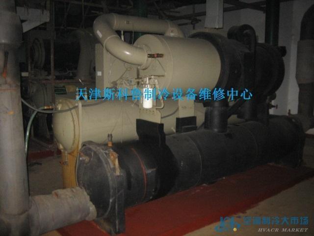 特灵CVHE系列离心式中央空调机组安装,特灵离心机维修